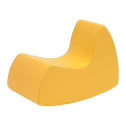 Grand Prix rocking chair - Grand Prix Rocking Chair by Softline - superb quality upholstered rocking chair. Perfect for kids' or teenagers' rooms.