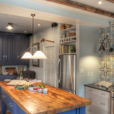 Traditional Kitchen by Buckminster Green LLC