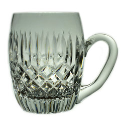 Lavish Shoestring - Consigned 3 Cut Glass 1/2 Pint Beer Tankards, Vintage English - This is a vintage one-of-a-kind item.