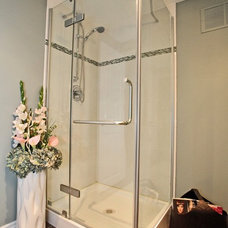 Contemporary Bathroom by Claire Jefford at Creating Contrast Designs