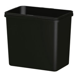 RATIONELL Recycling bin - Folding handles; keep the bin-liner in place and make the bin easy to carry.