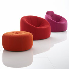 Eclectic Living Room Chairs by Ligne Roset