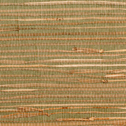 Rush Green Grass Cloth Wallpaper