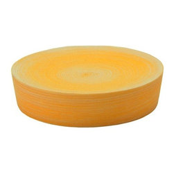 Gedy - Free Standing Orange Soap Dish - Part of the Sole collection, this orange soap dish was made from thermoplastic resins. Made for the contemporary style bathroom, it is a free standing soap dish for the countertop. European soap dish. Free standing piece. Orange finish. Made from thermopl