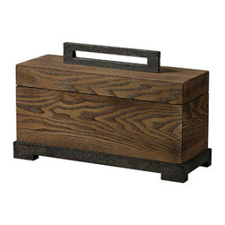 Sterling Industries - Wood Veneer Box in Halesite Wood - This Box from the Wood Veneer collection by Sterling will enhance your home with a perfect mix of form and function. The features include a Hale site Wood finish applied by experts.