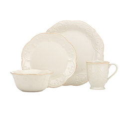 Lenox - Lenox French Perle White 4 Piece Place Setting - 822967 - Shop for Sets from Hayneedle.com! About Lenox CorporationLenox Corporation is an industry leader in premium tabletops giftware and collectibles. The company markets its products under the Lenox Dansk and Gorham brands propelled by a shared commitment to quality and design that makes the brands among the best known and respected in the industry. Collectively the three brands share 340 years of tabletop and giftware expertise.