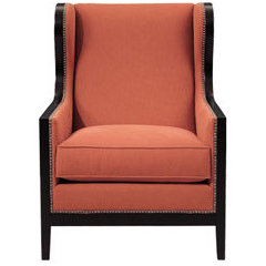 modern armchairs by Bernhardt