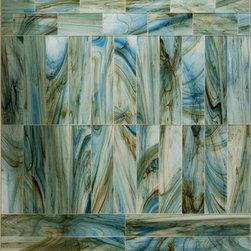Hirsch glass tile, Raw Elegance. Color Radiant -
