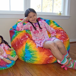 LiL Me Mini Bean Bag Chairs For Dolls - Pair with child bean bags -
