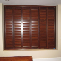 Bathroom Window Treatment Ideas on Window Treatments  Interior Shutters