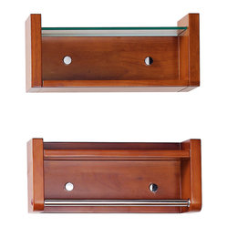 Cosmo 17-inch Wall Shelves