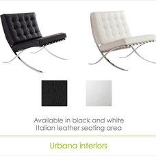 Modern Chairs by Urbana Interiors