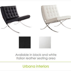 Modern Living Room Chairs by Urbana Interiors