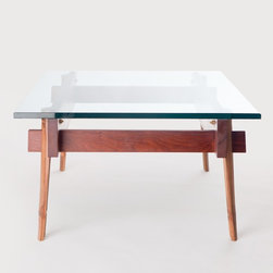 Grounded Coffee Table - El Dot's furniture collection includes simple yet stunning pieces, handcrafted by artisans in Nepal. With a focus on sustainable production, this collection is made entirely of renewable and chemical free materials. A Seattle based studio, El Dot was founded by Lishu and Leonardo Rodriguez, environmental artists and designers originally from Nepal and Venezuela. Their affinity for craftsmanship and mindful design is apparent in all of their work, such as this coffee table with enough space for all your favorite books and cups to entertain. This item ships within 10-12 business days and qualifies for free ground shipping.
