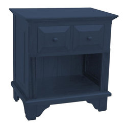 Trade Winds - New Trade Winds Nightstand Blue Painted - Product Details