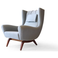 Modern Armchairs And Accent Chairs by scandinavian.modern