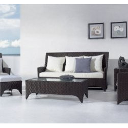 Gardenia Outdoor Sofa Set - Features: