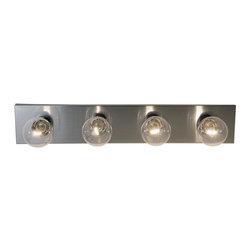 Premier Faucet - Four Light 24 inch Vanity Fixture - Brushed Nickel - Premier 558738 24in. Vanity Fixture, Brushed Nickel Finish.