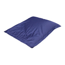 Great Deal Furniture - Kalapana Water Lounge Pillow, Navy Blue/Grey - Lounge in Luxury with the Kalapana Lounge Pillow. Perfect for any pool or lake, this bean bag is a great way to mix the sun and water. Cool off while you relax in the sun and enjoy the best of nature.