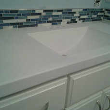 Traditional Vanity Tops And Side Splashes by CreeKraft Cultured Marble Products