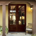 "Jeld-Wen A5508 Mahogany Woodgrain Door Sable Finish Clear IG Glass - SKU#    A5508_1Brand    Jeld-WenDoor Type    PatioManufacturer Collection    Jeld-Wen Patio Aurora Custom FiberglassDoor Model    Door Material    FiberglassWoodgrain    MahoganyVeneer    Price    $Door Size Options      $Core Type    Door Style    Door Lite Style    8 Lite , 3/4 LiteDoor Panel Style    1 PanelHome Style Matching    Door Construction    Prehanging Options    Prehung Configuration    Single DoorDoor Thickness (Inches)    Glass Thickness (Inches)    Glass Type    Glass Caming    Glass Features    Glass Style    Clear IGGlass Texture    Glass Obscurity    Door Features    Door Approvals    Door Finishes    SableDoor Accessories    Weight (lbs)    340Crating Size    25"" (w)x 108"" (l)x 52"" (h)Lead Time    Warranty"