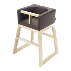 Tavo High Chair - Why shouldn't a high chair fit in with your modern bar stools or dining chairs? this beautiful version will keep your eating areas from looking too babyish, though we still cannot promise you won't end up with Cheerios all over your floor!
