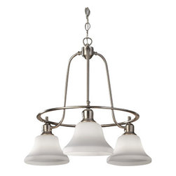 """Murray Feiss - Murray Feiss F2781/3 Cumberland 3 Light 1 Tier Chandelier with 36"""" Chain - Features:"""