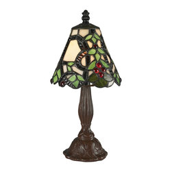 Z-Lite - Z-Lite Tabl Lamp X-LTM73-6Z - Mini Tiffany Lamps are available individually or purchase this set of 12 and save. Set includes 2 of each mini lamp shown on this page. 12 PACK ORDER# MINILAMPS4