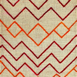 Rugsville Moroccan Beige Wool & Jute & Sari Silk Rug - Rugsville Moroccan Kilim rug features an abstract Chevron allover pattern reminiscent of decorative. Moroccan weavers are entirely at home in modern and minimalist interiors.
