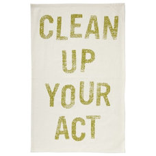 Modern Dish Towels by West Elm