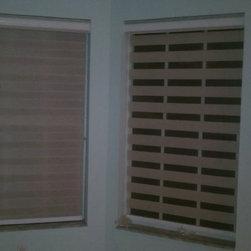 House In Boca Raton - Custom Duo Shade - By Shades Creation 561-305-6026