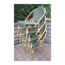 contemporary outdoor chairs by WICKER WAREHOUSE