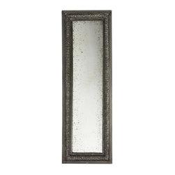 Aidan Gray - Aidan Gray Garden Reflections Mirror - Color/Finish: Zinc Burnt