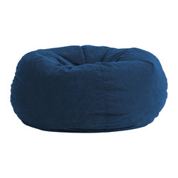 Comfort Research - Comfort Suede Blue Sky 5 Ft King Fuf Chair - All it takes is one sit to understand exactly why our one-of-a-kind Fuf Collection has brought bean bags out of your grandparent's dusty basement and into college campuses, bedrooms and living rooms around the world. With all sorts of sizes and colors available, all perfectly filled with our patented memory foam, the hardest part about sitting down on any Fuf is convincing yourself it's time to get up. Please note this item requires an additional shipping timeline of 10-14 days.