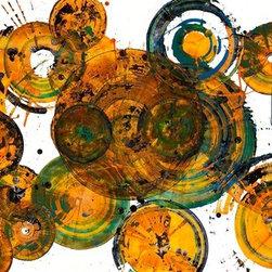 Sphere Series - 1272.121112 (Original) by Kris Haas - Original Abstract Modern Contemporary Paintings & Art