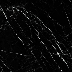 marblesystems - Black Honed Marble Tiles - Natural marble tile. Made in China.