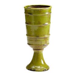 Cyan Design - Cyan Design 05017 Small Stockton Vase - Cyan Design 05017 Small Stockton Vase