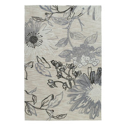 Kaleen - Kaleen Inspire Imagination (Linen) 9' x 12' Rug - Inspire is actually what the name implies, a carefree and airy group of thought provoking designs. True to Kaleen's commitment of exceptional styling and value at an affordable price Inspire is over-tufting or a layering of textures and colors providing the very best affordable and durable luxury ideal for any setting in your home or office. Inspire Collection is made of only the finest 100% Premium Polyester yarn. Produced and over-tufted in China. * made with blend of textured and over-tufted yarns * Custom sizes not available * incredible value * soft yet extremely durable