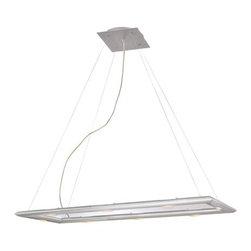 Kenroy Home - Kenroy Home 90846 Modern 6 Light Rectangular Linear Chandelier Forma Co - *Forma 6 Light Rectangular Pendant