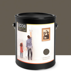 Imperial Paints - Interior Semi-Gloss Trim & Furniture Paint, Walnut Shell - Overview: