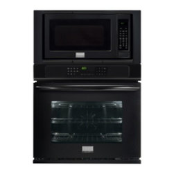 """Frigidaire - FGMC3065PB Gallery 30"""" 4.6 cu. ft. Capacity Microwave Combination Oven  with Tru - Gallery 30 Microwave Combination Oven with True Convection System Express-Select Controls 16 Turntable and 10 Power Levels in Black Microwave includes white interior"""