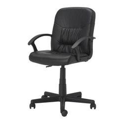 IKEA of Sweden - MOSES Swivel chair - Swivel chair, black