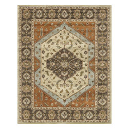 "Loloi Rugs - Loloi Rugs Maple Collection - Beige / Brown, 3'-6"" x 5'-6"" - Transform your home into a manor steeped in elegance and tradition with the majestic Maple Collection. These timeless Persian designs carry the rich heritage of centuries of carpet making in each arabesque, stylized flower and intricate border. Maple Collection rugs are hand-tufted in India of 100-percent wool so they are eco-friendly and mindfully crafted with sustainable materials. With colors as rich as these, you will feel like nobility every time you walk into your home."