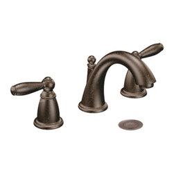 """Moen - Moen T6620ORB Brantford Two Handle Widespread Bathroom Sink Faucet Trim in Oil R - Moen T6620ORB Brantford Two Handle Widespread Bathroom Sink Faucet Trim in Oil Rubbed BronzeBrantford offers an elegant design that includes distinguished details and classic lever handles. Give your home a beautiful look with timeless appeal.Note: Valve Not IncludedMoen T6620ORB Brantford Two Handle Widespread Bathroom Sink Faucet Trim in Oil Rubbed Bronze, Features:• Low-arc spout design for conventional styling• Two lever-style handles• 8-16"""" widespread installation• Includes pop-up metal drain assembly• Aerated flow for everyday use• 1/2"""" IPS Connections• ADA Compliant• Meets WaterSense criteria to conserve water without sacrificing performance• 1.5 GPM (5.7 l/min) max• Rough-In Valve (9000) Required- Sold SeparatelyRequires: Moen-9000 Moen-9000 M-PACT Widespread Bathroom Sink Rough-In Valve, 1/2"""" IPS Connection Moen Limited Lifetime WarrantyView the Entire Moen Brantford CollectionView All"""