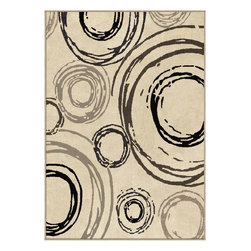 Orian - Orian Nuance Centric (Lambswool) 8' x 11' Rug - Rich blend of organic colors makes this collection a design statement for any casual decor.