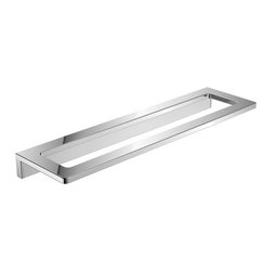 "WS Bath Collections - Asio 1350.204.33 Towel Bar 12.4"" - Asio 1350.204.33, 12.4"" x 3.3"", Towel Bar in Polished Chrome"