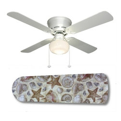 Shop beach theme ceiling fans on houzz - Beach themed ceiling fan ...