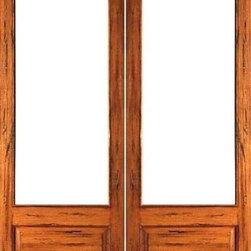 "Rustic-1-lite-P/B Interior Solid Wood 1 Panel IG Glass Double Door - SKU#Rustic-1-lite-P/B-2BrandAAWDoor TypeInteriorManufacturer CollectionInterior French DoorsDoor ModelDoor MaterialWoodWoodgrainTropical HardwoodVeneerPrice780Door Size Options2(14"") x 96"" (2'-4"" x 8'-0"")  $02(18"") x 96"" (3'-0"" x 8'-0"")  $02(24"") x 96"" (4'-0"" x 8'-0"")  +$2602(30"") x 96"" (5'-0"" x 8'-0"")  +$2802(32"") x 96"" (5'-4"" x 8'-0"")  +$2802(36"") x 96"" (6'-0"" x 8'-0"")  +$280Core TypeSolidDoor StyleDoor Lite Style3/4 Lite , 1 LiteDoor Panel Style1 Panel , Chamfer StickingHome Style MatchingMediterranean , LogDoor ConstructionEngineered Stiles and RailsPrehanging OptionsPrehung , SlabPrehung ConfigurationDouble DoorDoor Thickness (Inches)1.75Glass Thickness (Inches)1/2Glass TypeDouble GlazedGlass CamingGlass FeaturesInsulated , Tempered , low-E , Beveled , DualGlass StyleClear , White LaminatedGlass TextureClear , White LaminatedGlass ObscurityNo Obscurity , High ObscurityDoor FeaturesDoor ApprovalsFSCDoor FinishesDoor AccessoriesWeight (lbs)680Crating Size25"" (w)x 108"" (l)x 52"" (h)Lead TimeSlab Doors: 7 daysPrehung:14 daysPrefinished, PreHung:21 daysWarranty1 Year Limited Manufacturer WarrantyHere you can download warranty PDF document."