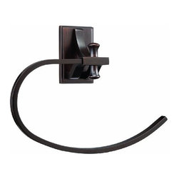 DHI-Corp - Ironwood Towel Ring, Brushed Bronze - The Design House 560045 Ironwood Towel Ring adds an elegant accent to any bathroom wall. This rustic and stylish ring is constructed in iron, finished in brushed bronze and measures 8.25-inches in total. Ez anchor mounts are included with this towel ring for quick installation on drywall and a mounting template is conveniently printed on the back of the package. Anchors are a cleaner alternative to plugs and they are well-known for their steadfast strength and intuitive design. This bar is sophisticated with an open oval shape to hold small or medium sized towels. The Ironwood collection features a matching toilet paper holder, robe hook and towel bar for a complete bathroom set to enjoy for years to come. The Design House 560045 Ironwood Towel Ring comes with a 1-year limited warranty that protects against defects in materials and workmanship. Design House offers products in multiple home decor categories including lighting, ceiling fans, hardware and plumbing products. With years of hands-on experience, Design House understands every aspect of the home decor industry, and devotes itself to providing quality products across the home decor spectrum. Providing value to their customers, Design House uses industry leading merchandising solutions and innovative programs. Design House is committed to providing high quality products for your home improvement projects.