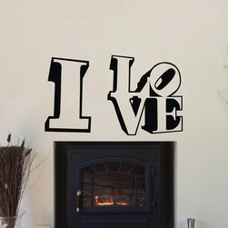ColorfulHall Co., LTD - Love Wall Quote I Love Lettering - Love Wall Quote I Love Lettering